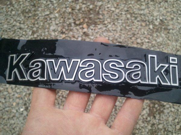 monogramme KAWASAKI pour reservoir