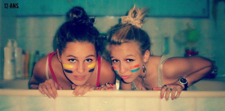 •Serena et Avery; une amitié a vous couper le souffle ! ♥