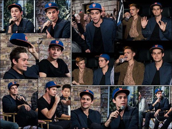 08/09/15 Dylan O'brien était présent a l'événement « Meet the Filmmakers » à l'Apple Store de Londres.  Meet the Filmmarkers présente des entrevus avec differents acteurs/scénaristes, l'événement se passe dans les Apple Store uniquement.