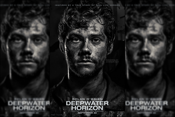 •• Poster promotionnel du personnage incarné par Dylan dans son nouveau film! Avez-vous hâte?