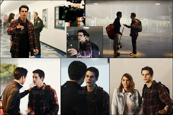 •• Premiers stills de Dylan O'brien disponibles pour la saison 6 de Teen Wolf dans le rôle de Stiles
