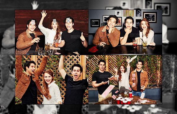 •• Dylan O'brien, Holland Roden et Tyler Posey ont posé pour un shoot pour Entertainment Weekly !