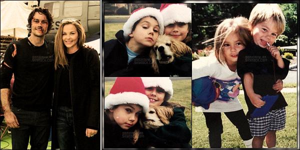 •• Nouvelle photo sur le set d'American Assassin et de Dylan étant enfant avec sa soeur Julia.