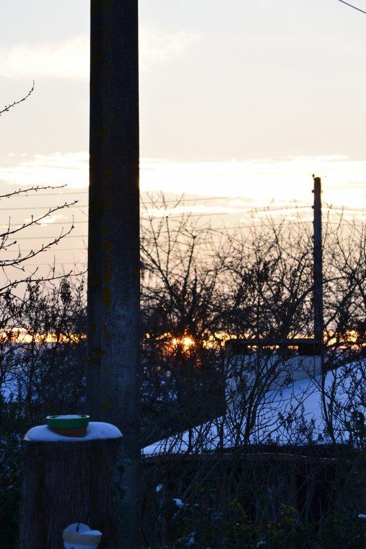Le soleil et la Neige, une union parfaite!!