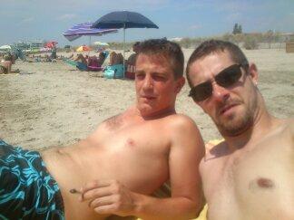 la camargue plage sous 35 degré