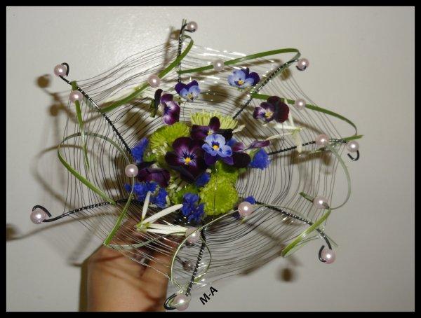 f3ac4dab65c166 Bouquet dans le même esprit que le parapluie - Blog de Marie-A