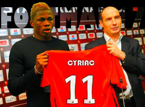 Cyriac en prêt.