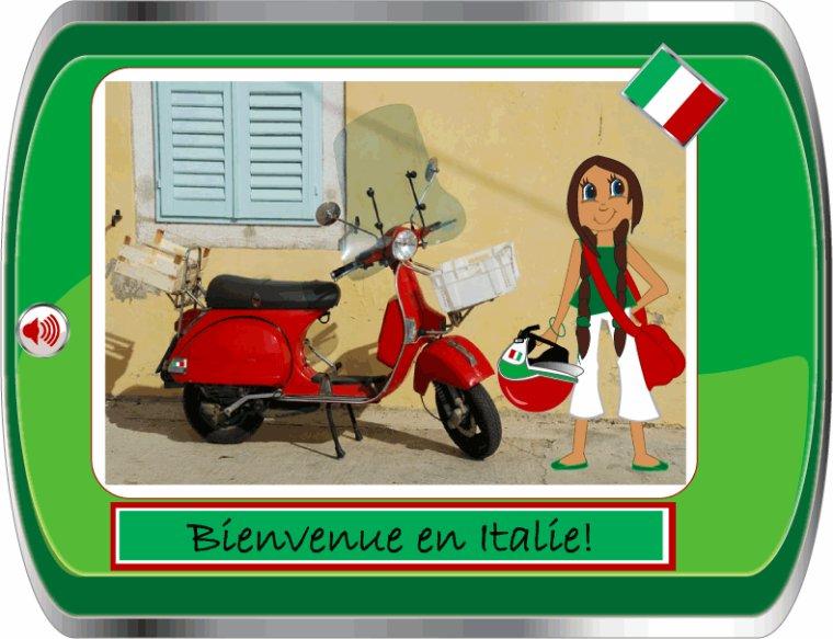 HOMMAGE A L ITALIE OU MA FILLE OPHÉLIE A ÉTÉ EN VACANCES