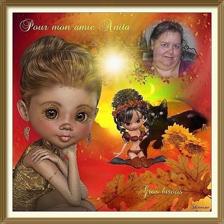 CADEAU DE MON AMIE SHINEANE merci Isa bisous Anita