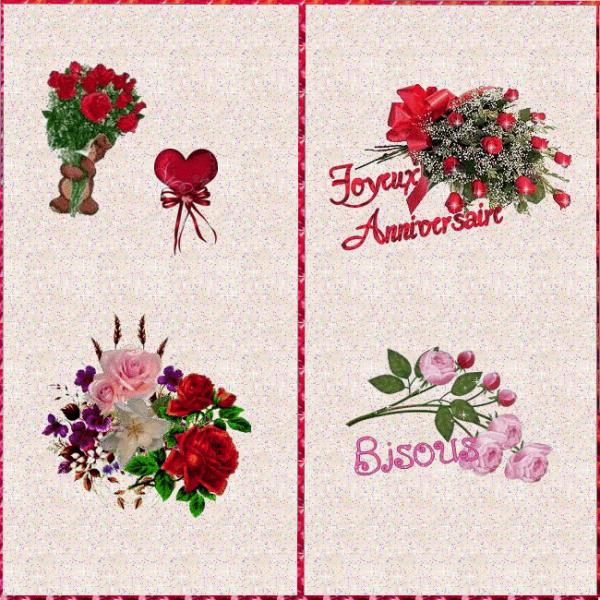 cadeaux de mes amies CHOUPETTE673 et ORCHIDEEROSE merci beaucoup bisous Anita