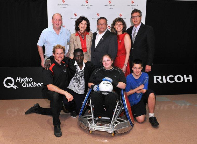 Défi sportif 2012 : Plus que des athlètes !
