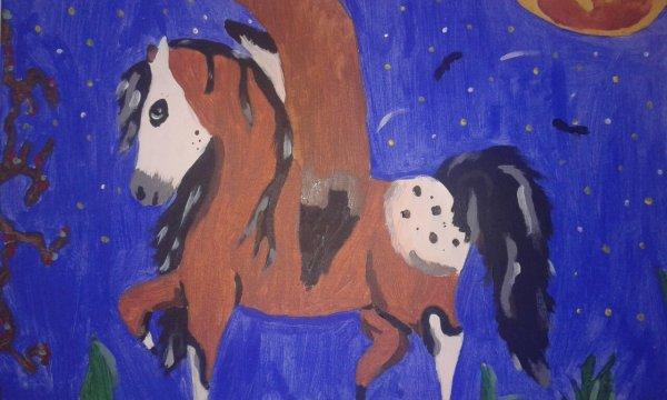 Le tableau que j'ai peint