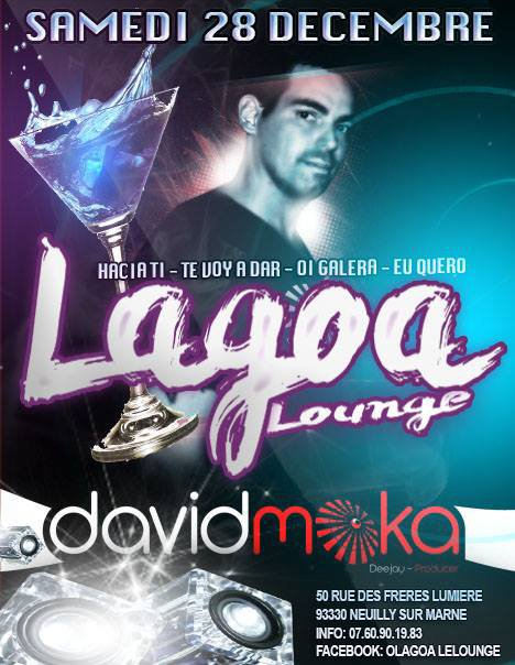 **SAMEDI SOIR AU LAGOA LOUNGE ON FOU LE BORDEL!!!!