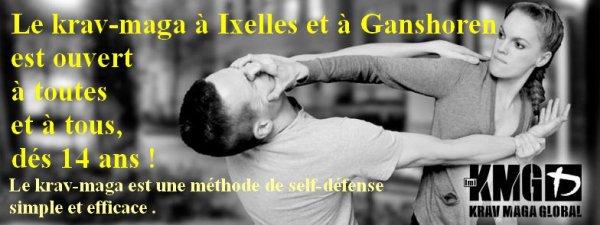 Toutes les infos à propos des cours de krav-maga (קרב מגע ) à Ganshoren & à Ixelles