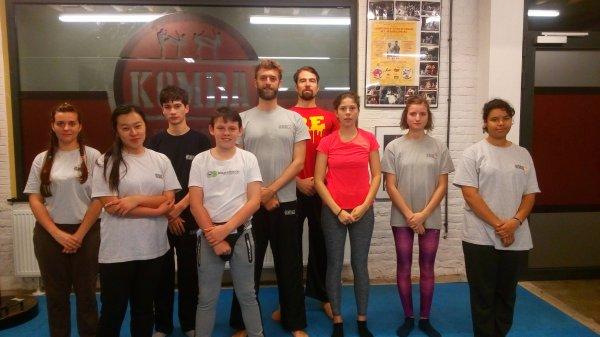 Mardi 10 octobre 2017 de 18h30 à 20h00 - cours de krav-maga à l'American Gym