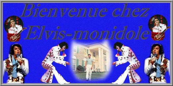 Elvis      Vous Souhaite La Bienvenue              Mon Idole