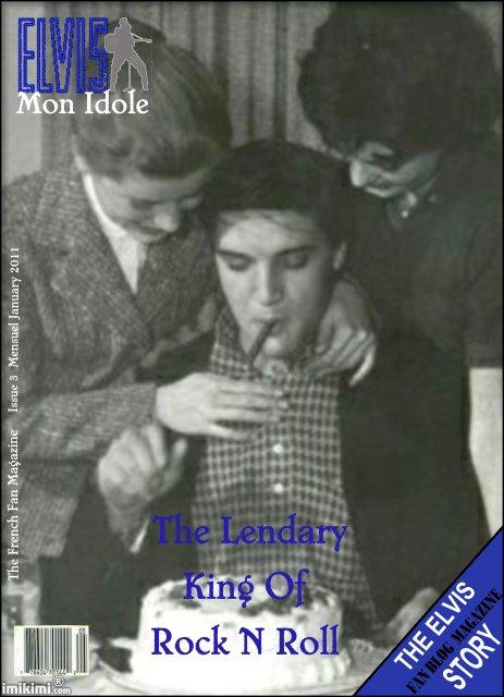 Elvis      Sommaire Du Mois             Mon Idole