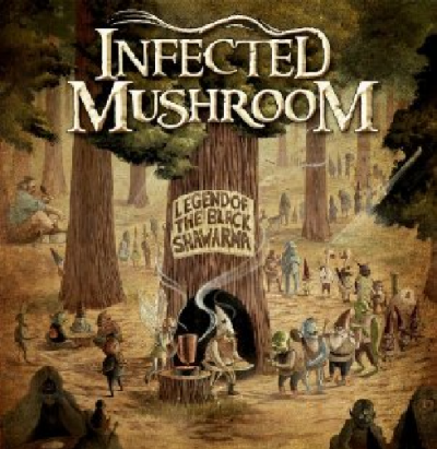Infected Mushroom -_- Legend of The Black Shawarma