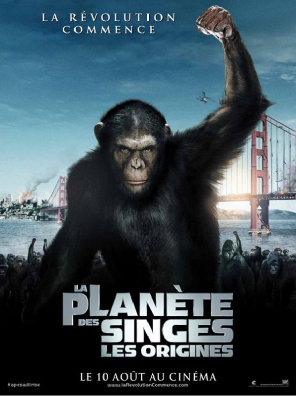 La Planète des singes - les origines   (Exclusive!!!)