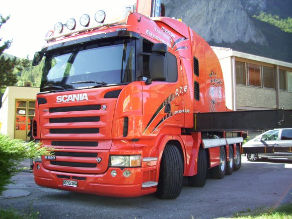 EXPO camions sembrancher suisse