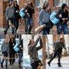 Miley se baladant dans les rues de la nouvelle orléans le 14 janvier 2011. Enfin des vrais candids qui ne sont pas celle du tournage. Miley a l'air de bien s'amuser.