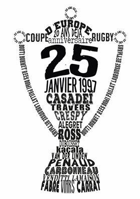 Brive a fixé la date de fête des 20 ans du titre de champion d'Europe