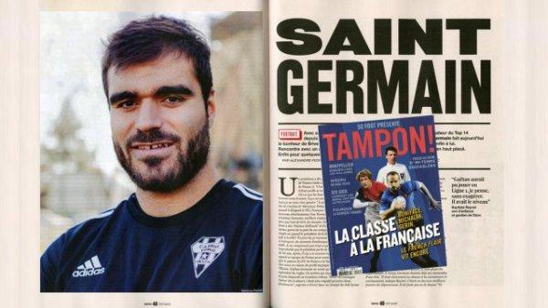 Gaëtan Germain distingué par Tampon !
