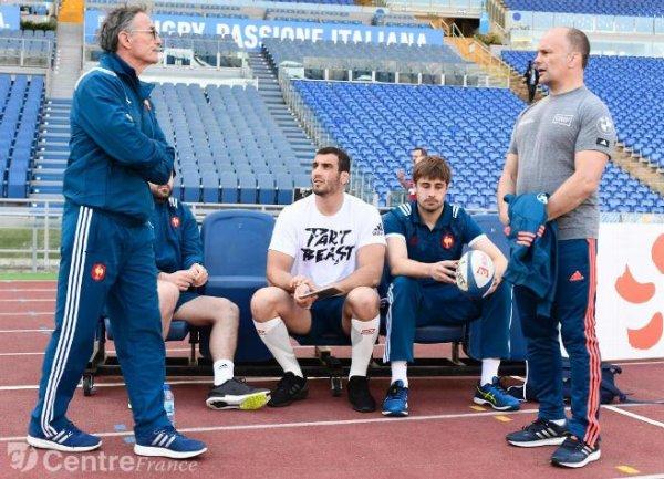 Julien Le Devedec et Fabien Sanconnie ont porté les couleurs du CAB, en Bleu