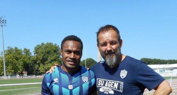 L'ailier fidjien Benito Masilevu veut «finir meilleur marqueur du Top14»