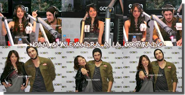 - Noam & Alexandra a la GoomRadio le 31 Mars.