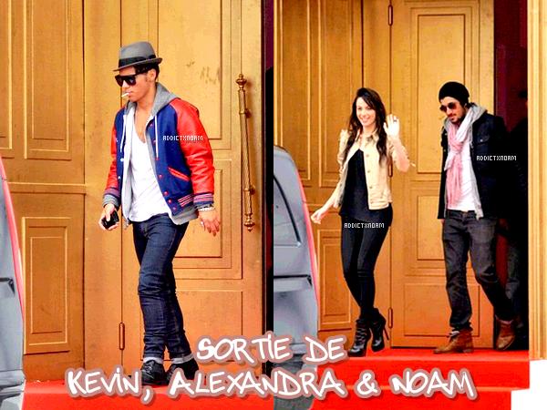 - Kevin, Alexandra & Noam : Leurs sortie..