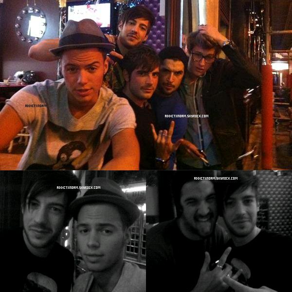 - Noam, Kevin, J-B, Robin & Martin.