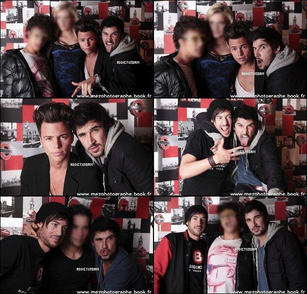 - Noam, Kevin, Robin & Alexandre, le 28 avril au six seven pour la soirée british.