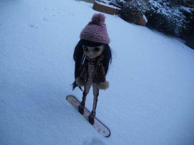 Dans la neige... ♥