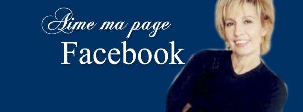 Soyez plus nombreux sur ma page Facebook!
