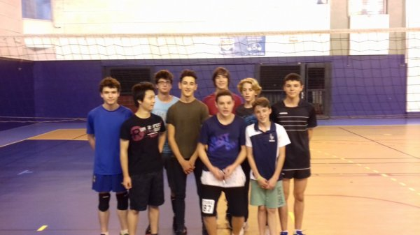 AS VOLLEY-BALL 2016-2017 garçons
