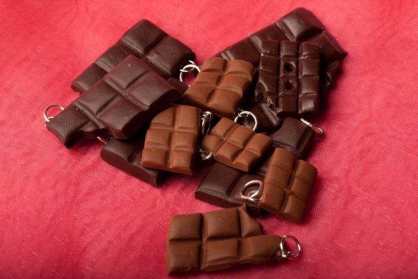 plaques de chocolat