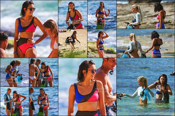 26/06/17: Nina Dobrev a été photographiée sur une plage entrain de tourner un documentaire -  à Honolulu.  Ce reportage est en rapport avec les requins. Nina est une personne très proche de la nature, la preuve, Donnez-moi votre avis en laissant un comm