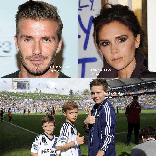 Lequel des trois garçons ressemble le plus à David ou Victoria?
