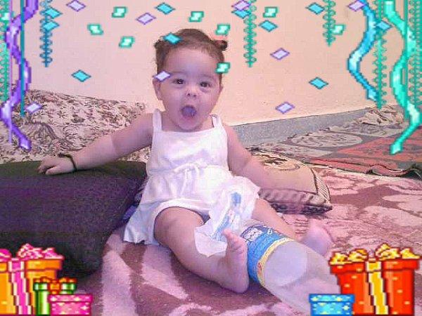 la petite fille de ma soeur