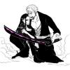 ZORO ET ROBIN JUST LOVE