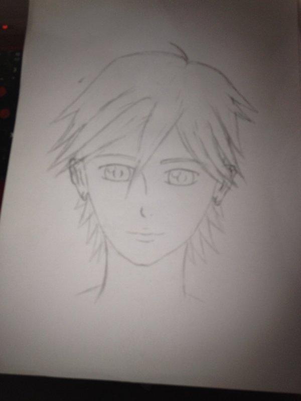 C un de mes premier garçon que je dessin