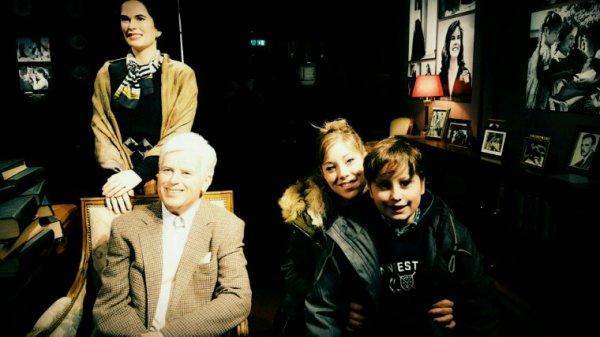Chaplin's World  avec tata Malika et maman