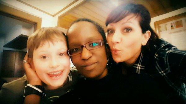 Avec Jenny et maman