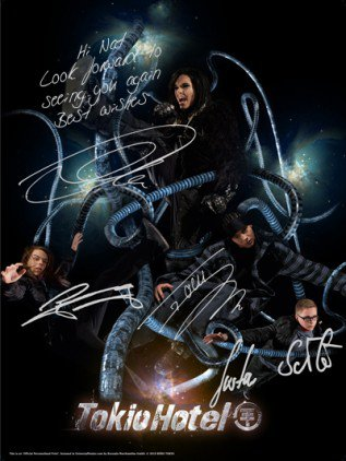Posters de Tokio Hotel personnalisés .