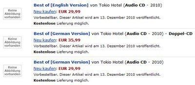 """Albums """"Best of"""" pour décembre 2010  (Informations)"""