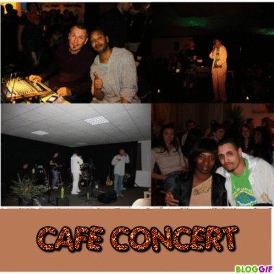 Voici des belles photos des rappeurs chrétiens Flexy et Dekpo et du DJ Didier qui était au café concert !!!
