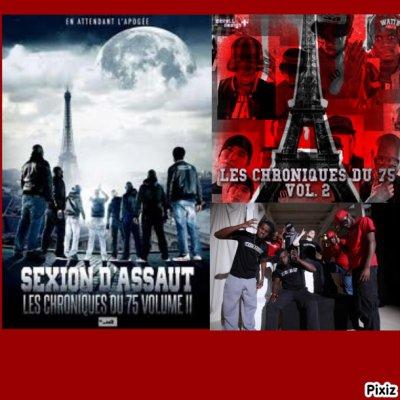 Sexion d'assaut les chroniques du 75 volume 2 CD DVD dans les bacs Lundi 4 avril 2011