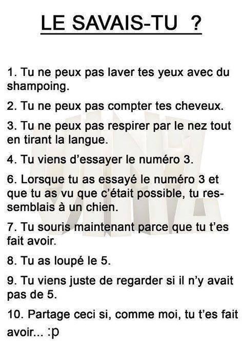 Le Savais Tu ? ^^