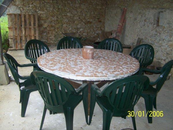 TABLE AVEC DE LA RECUP ^^